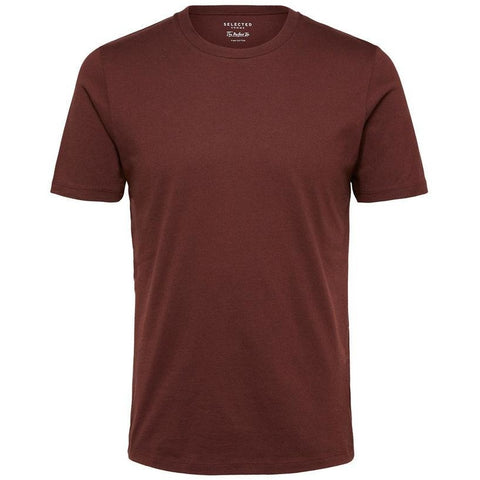 PERFECT FIT PIMA COTTON TEE - BROWN