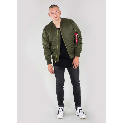 MA-1 BOMBER JACKET - DARK GREEN