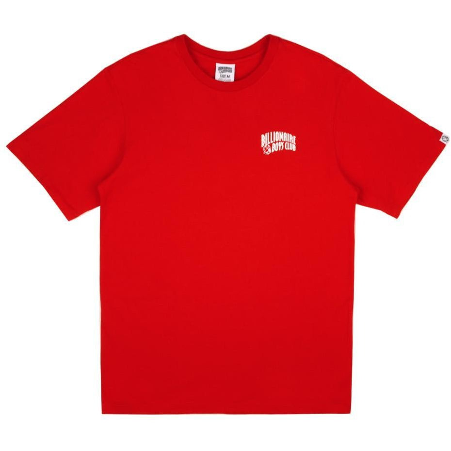 SMALL ARCH LOGO TEE - RED