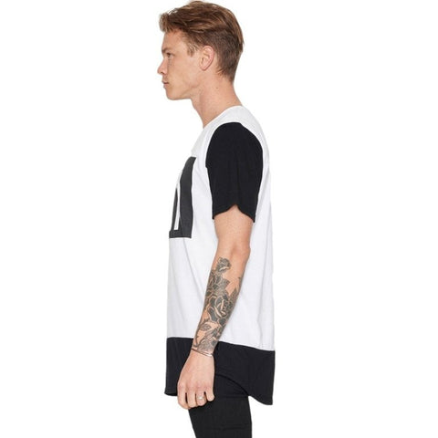 MONOCHROME TEE - WHITE
