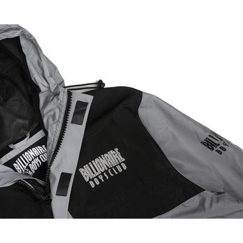 REFLECTIVE JACKET - SILVER/BLACK