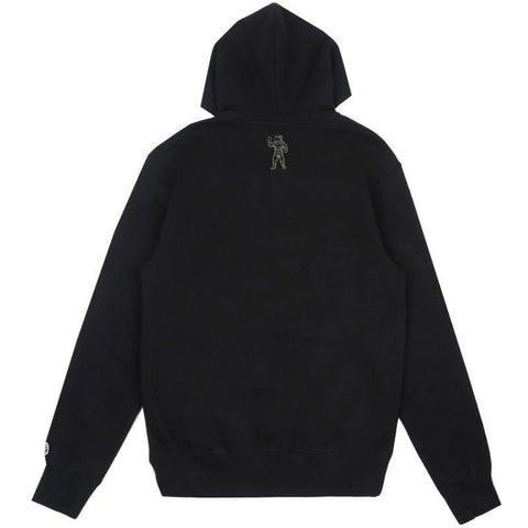 SPACE CAMO ARCH LOGO HOODIE - BLACK