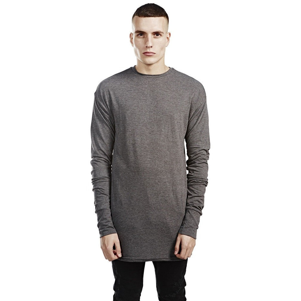 Long Sleeve Tee - Charcoal