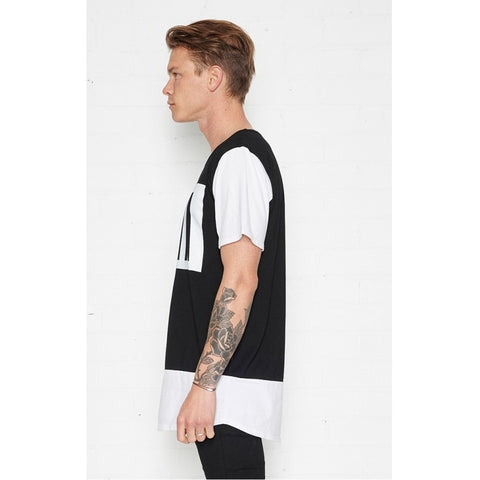MONOCHROME TEE - BLACK