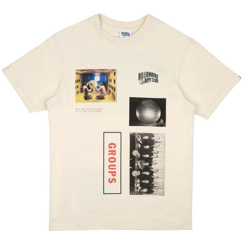 GROUP PHOTO PRINT TEE - OFF WHITE