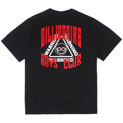 WARNING TEE - BLACK