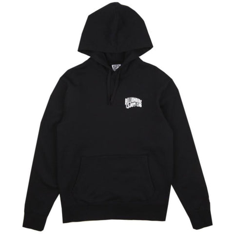 SMALL ARCH POP OVER HOODIE - BLACK