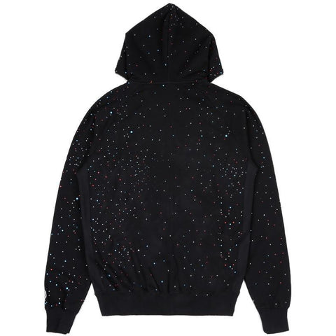 GALAXY ASTRO FULL ZIP HOOD - BLACK