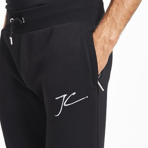 SLIM FIT JOGGERS - BLACK