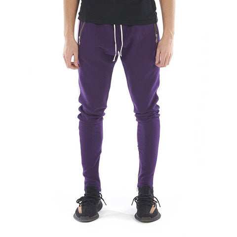 LIMITED EDITION ZIP JOGGERS - PURPLE