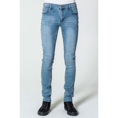 TIGHT JEANS - STONEWASH BLUE