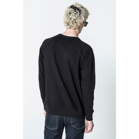 RULES THIN BOX SWEAT - BLACK