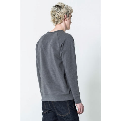 RULES THIN BOX SWEAT - GREY
