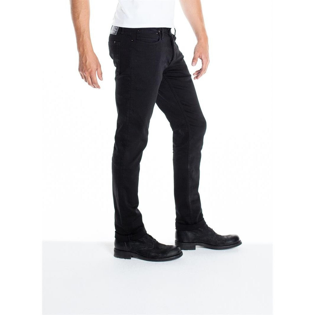 BOLT SKINNY FIT JEANS - FOREVER BLACK