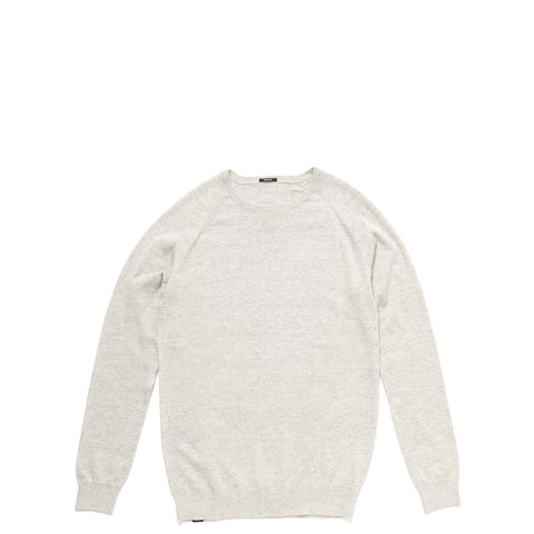 RAGLAN CREW SWEATSHIRT - NATURAL
