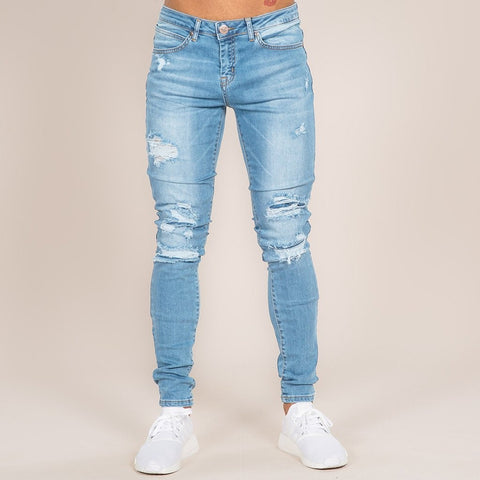 MACON SKINNY JEANS - LIGHT BLUE