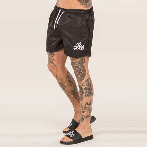 RESEDA RACER SHORT - BLACK