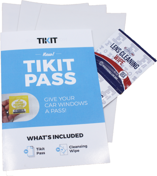 Tikit Pass 3-Pack