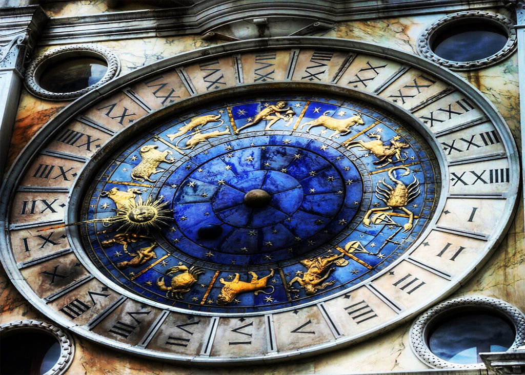 Saint Mark's Astrological Clock -Art Photograph