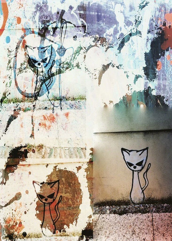 Street Cat Collage