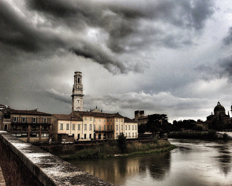 Verona in a Storm- Art Photo