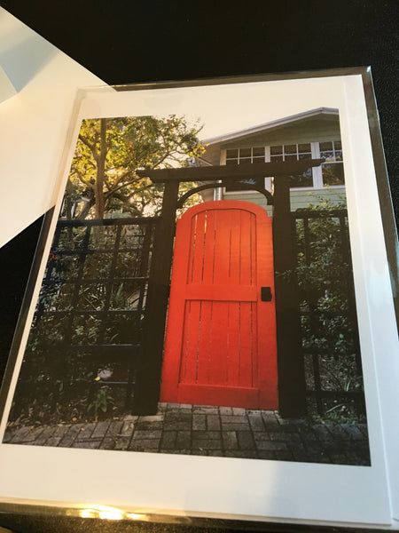 The Red Gate- Art Photo