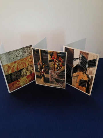 Verona Notecard Set  4 each of 3 designs-  Museum Quality Cards