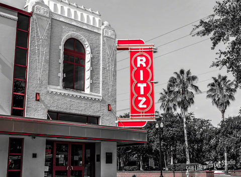 Historic Ritz Theatre Sign