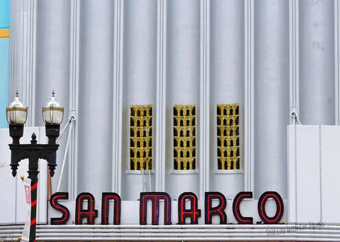 Historic San Marco Theatre Sign