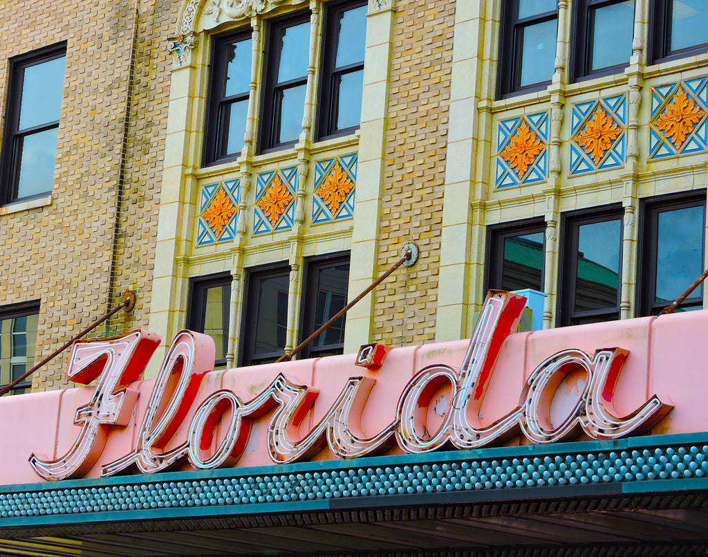 Historic Florida Theatre Sign