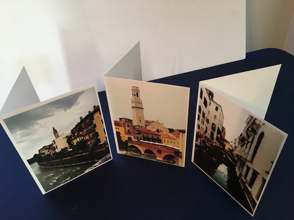 Italian Watercolor Series Notecard Set