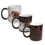 MUG 11oz - Ceramic Color Changing - Black - (36/case)
