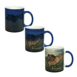 MUG 11oz - Ceramic Color Changing - Blue - (36/case)