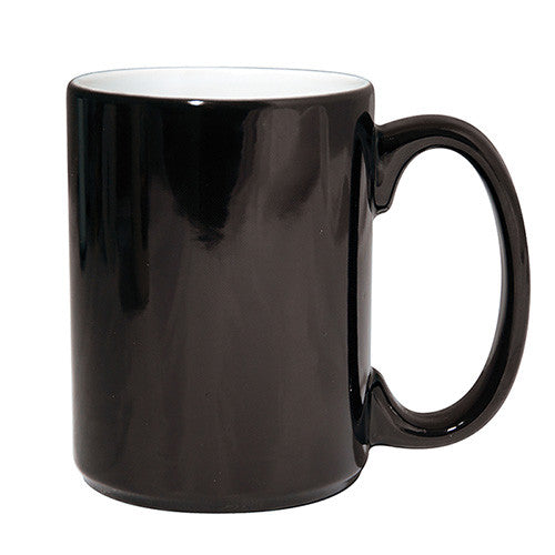 MUG 15oz - Ceramic Color Changing - Black - (36/case)