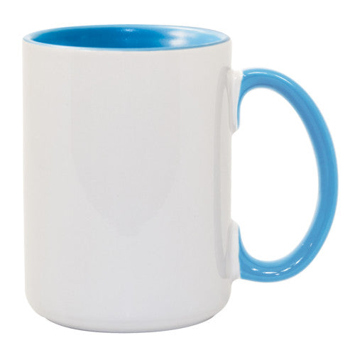 MUG 15oz - Ceramic Color Inside & Handle - (36/case)