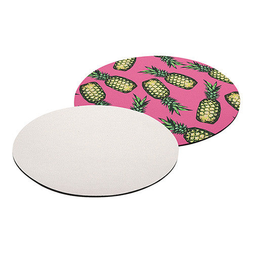 MOUSE PAD 3mm - Round - (160/cs) - Transfer It Company