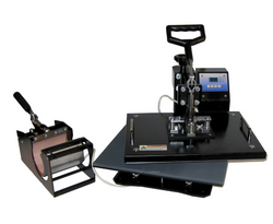 HEAT PRESS - MULTI-USE (8-IN-1) - Transfer It Company