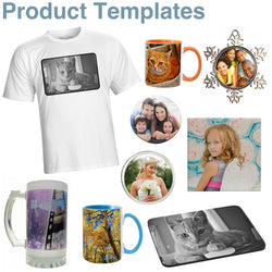 DIGITAL - FREE Product Templates