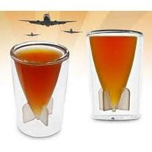 Bombs Away 1-1/2-Ounce Shot Glasses, Set of 2