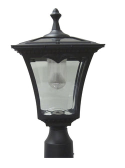 Solar Lamp Post Light - Coach Light with a Deck Mount