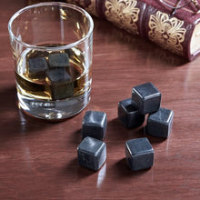 Whiskey Stones, Polished Black Whiskey Rocks Set Of 9