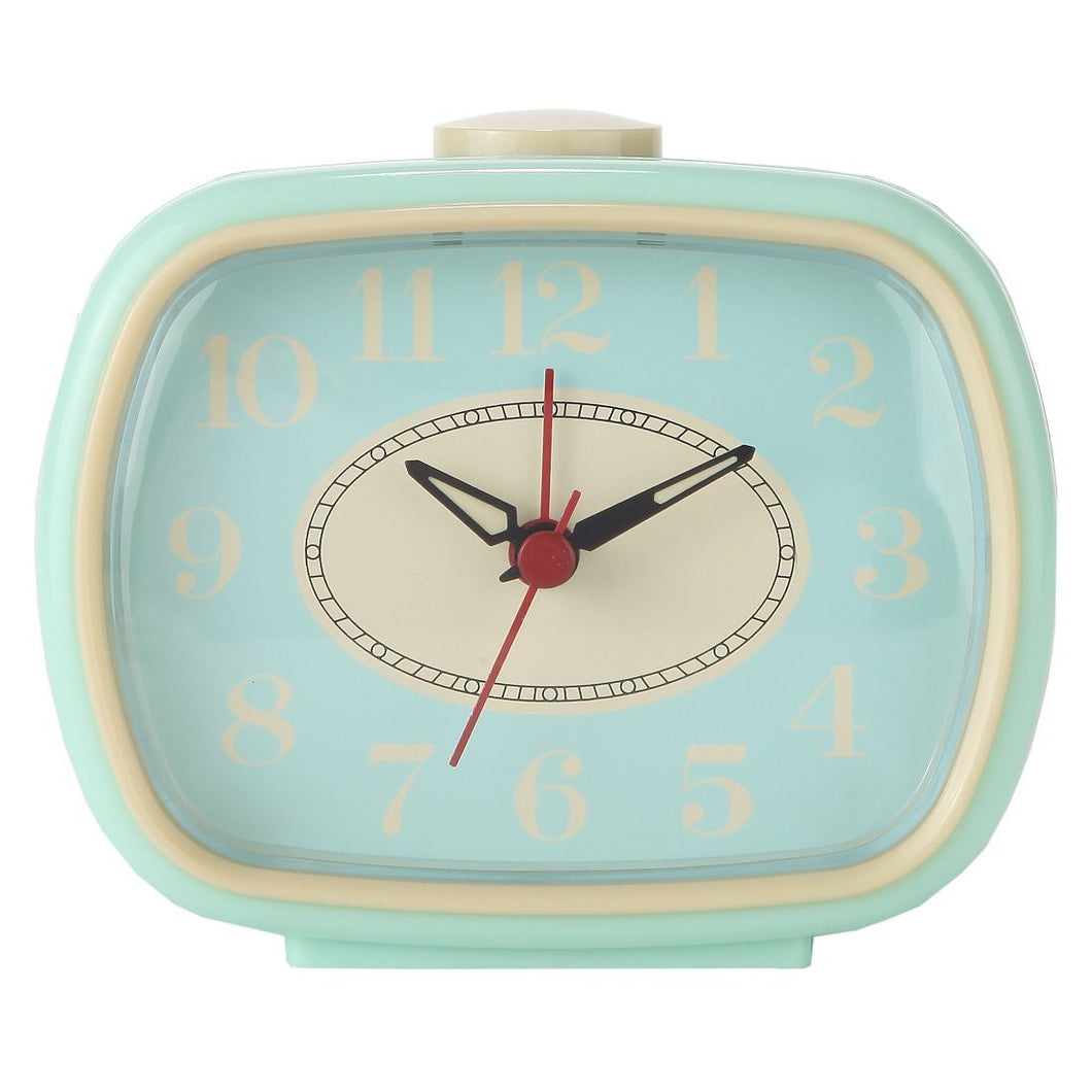 Quiet Non-ticking Silent Quartz Vintage/Retro Inspired Analog Alarm Clock