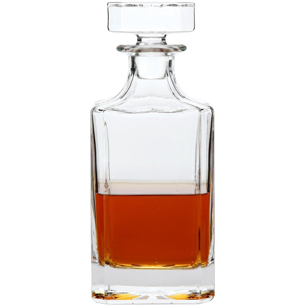 Wine, Liquor and Whiskey Decanter with Glass Stopper