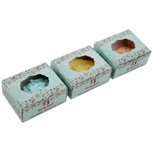 Floral Shea Butter Guest Soap, Set of 3-3 Ounce Essential Oil Soap Bars