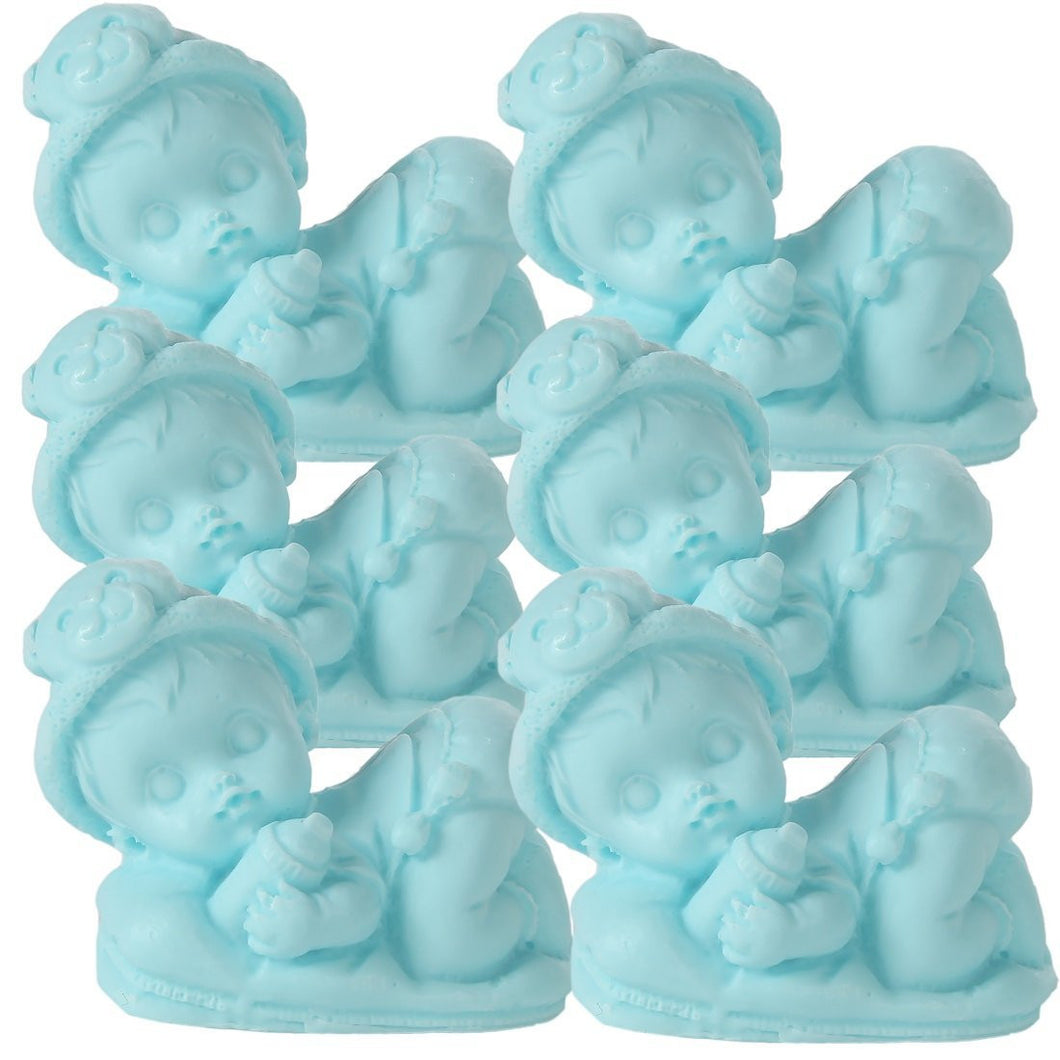 Sleeping Baby Soaps - Unique Premium Handmade Soap. The Perfect Baby Shower Gifts. Set of 6