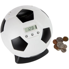 Kid's Money Counting Digital Coin Bank - Soccer Ball