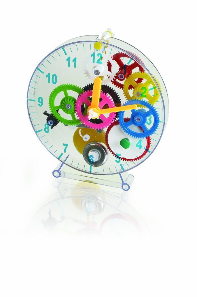 Do-It-Yourself Clock. Children's First Puzzle Clock