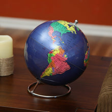 Political World Globe With Stand - 8 Inch Diameter