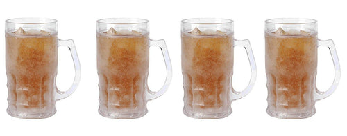 Beer Mug with Freezing Gel. 17 Oz. (4)
