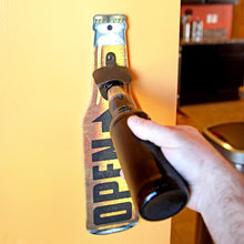 Wall Mount Beer Bottle Opener, Great Father's Day Gift